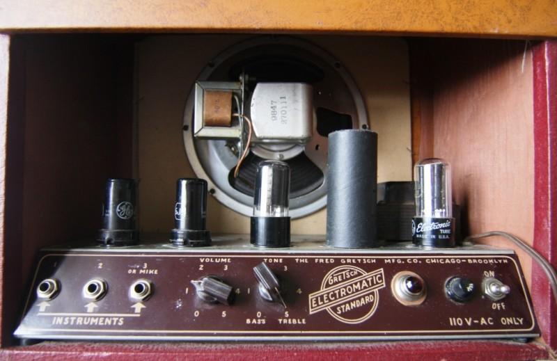 GRETSCH 6151 ELECTROMATIC STANDARD AMPLIFIER 1950. Gretsc75