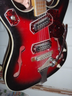 '68 BRUNO CONQUEROR Guitar10