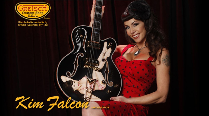 Gretsch Kim Falcon limited édition Home-k10