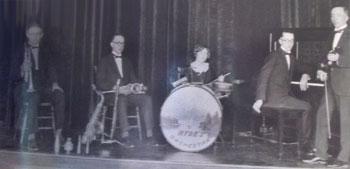 """Vintage Gretsch accordéon """"la tosca"""" Hydeso10"""