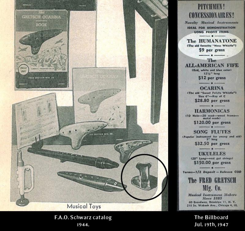 "Gretsch Nose Flute ""humanatone"" Image10"