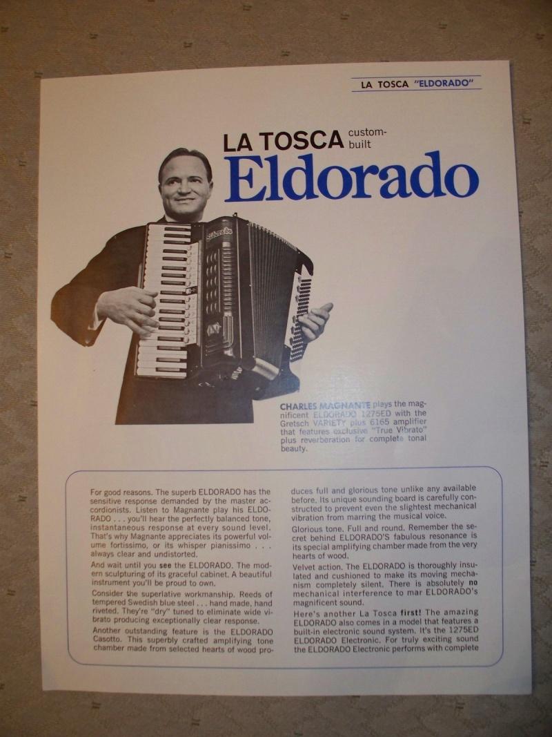 """Vintage Gretsch accordéon """"la tosca"""" Kgrhqf12"""