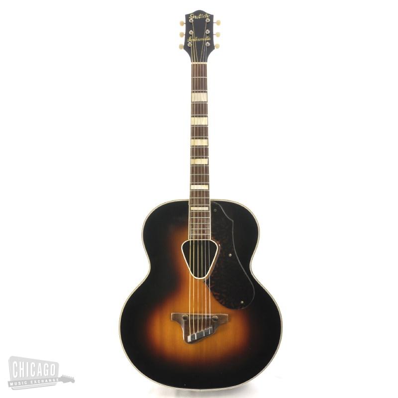 Gretsch 1949 et 1946 Jumbo Synchromatic  acoustic 125F  Kgrhqf20