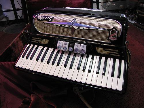 """Vintage Gretsch accordéon """"la tosca"""" Kgrhqf30"""