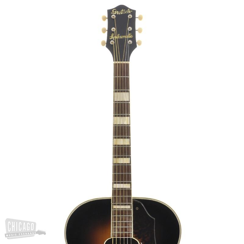Gretsch 1949 et 1946 Jumbo Synchromatic  acoustic 125F  Kgrhqj21