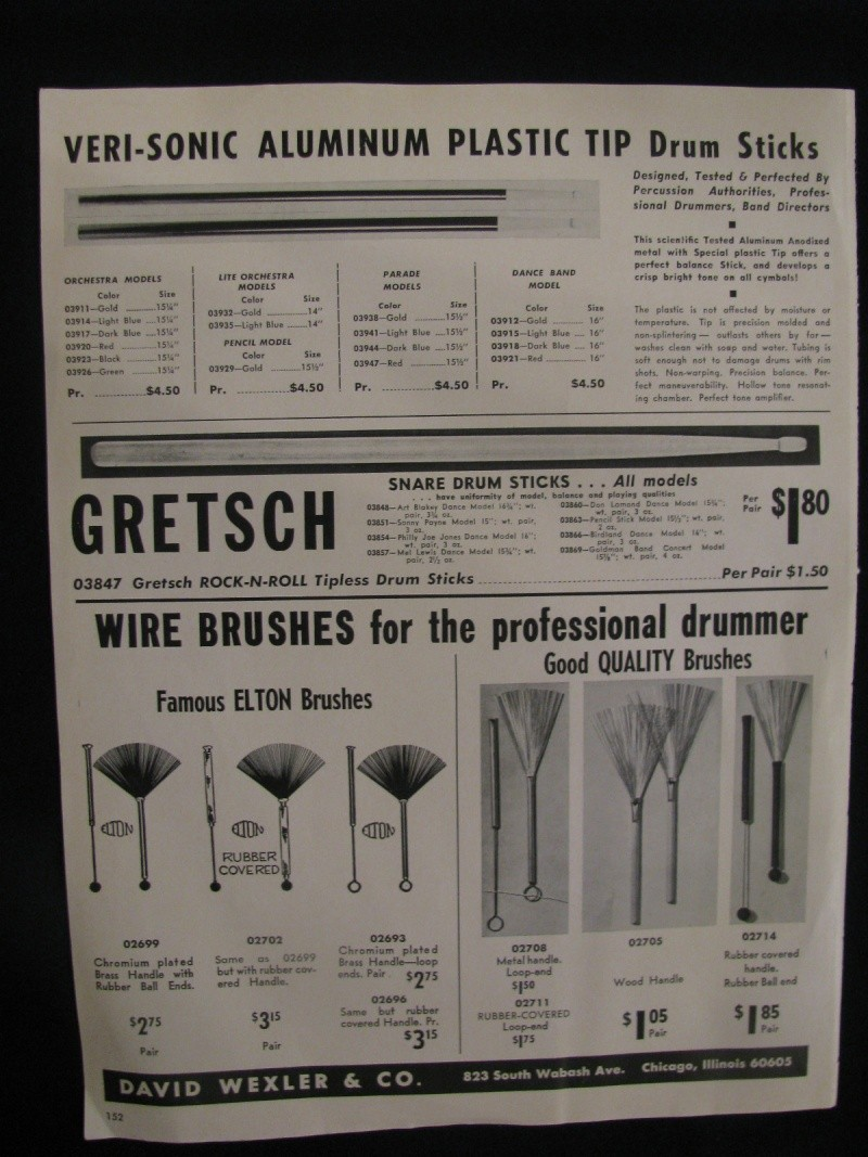 "Gretsch ""snare drum stick"" Kgrhqj25"