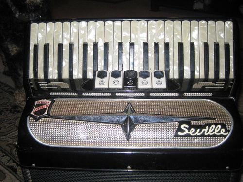 "Vintage Gretsch accordéon ""la tosca"" Kgrhqj36"