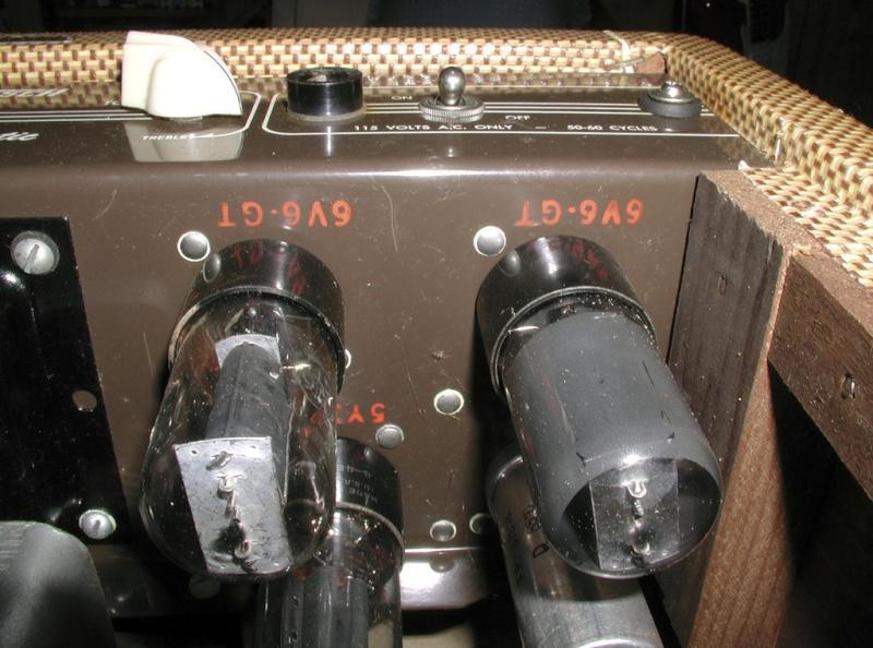 1955 Gretsch 6155 Electromatic Artist Tube Amp Kgrhqj38