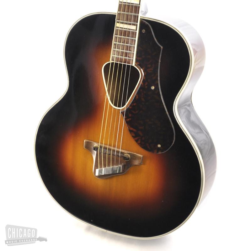 Gretsch 1949 et 1946 Jumbo Synchromatic  acoustic 125F  Kgrhqn21