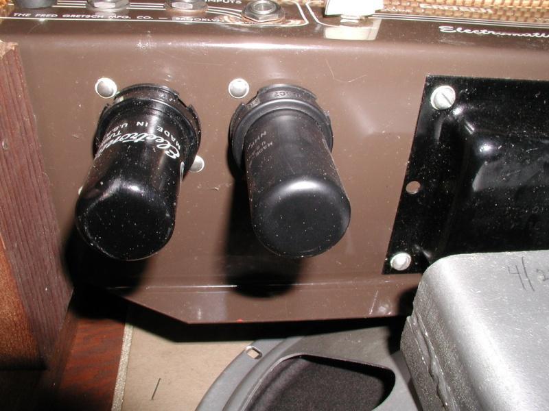 1955 Gretsch 6155 Electromatic Artist Tube Amp Kgrhqn36