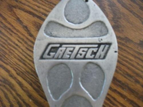 """Vintage Gretsch"""" PEDALS"""" Drum Kgrhqr17"""