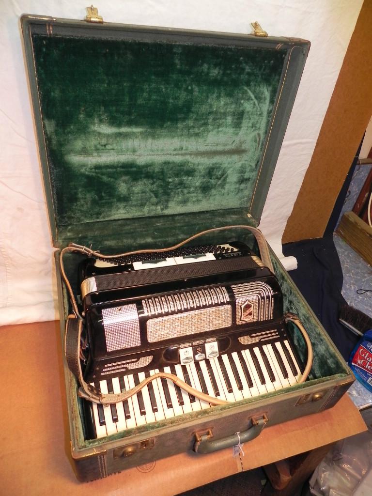 """Vintage Gretsch accordéon """"la tosca"""" Kgrhqu13"""