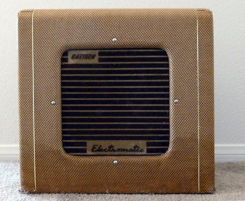 1955 Gretsch 6155 Electromatic Artist Tube Amp Kgrhqv33
