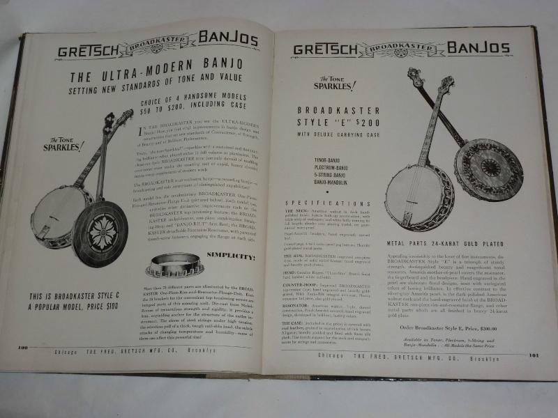 GRETSCH BANJO et UKULELE... Kgrhqv34