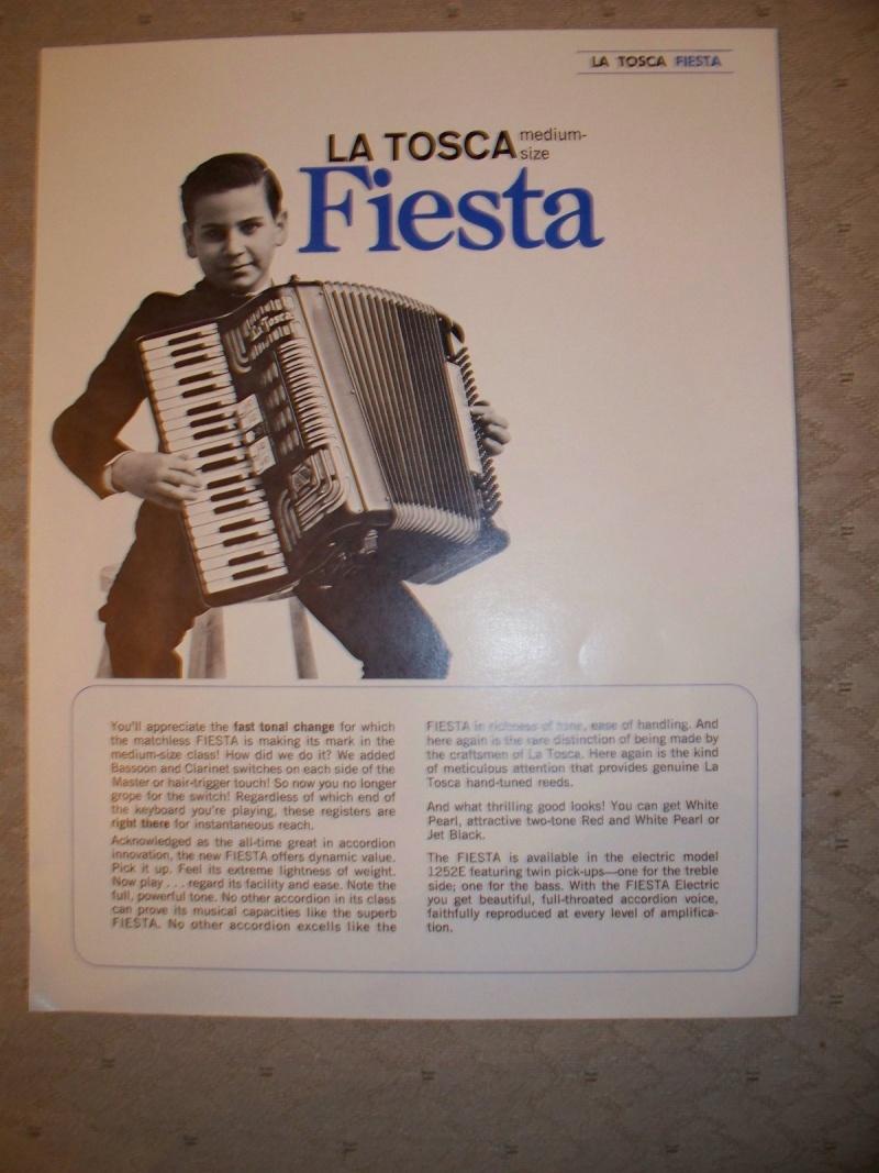 """Vintage Gretsch accordéon """"la tosca"""" Kgrhqz13"""