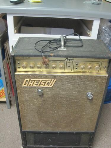 """70's gretsch bass amp """"rogue"""" Kgrhqz24"""