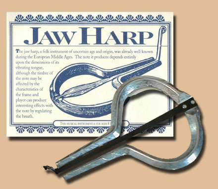 Dusie Jews Harp or Jaw Harp by Fred Gretsch Co Mouthh10