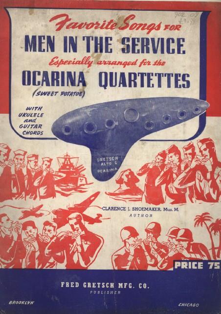 OCARINA  made by Fred. Gretsch Mfg. Co., Brooklyn, N.Y.1940 Ocarin10
