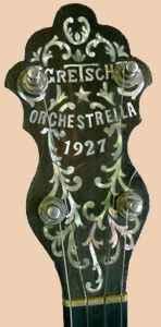 GRETSCH BANJO et UKULELE... Orches10