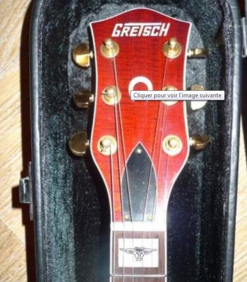 gretsch round-up6121 combien de repere de touche différent ? Ou10