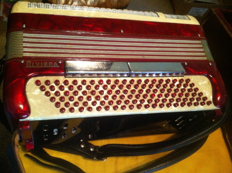 """Vintage Gretsch accordéon """"la tosca"""" P10"""