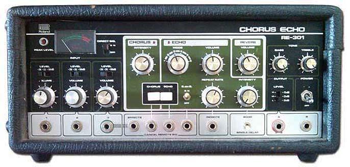 """LES PEDALES D'EFFETS et le """"diy"""" Roland10"""
