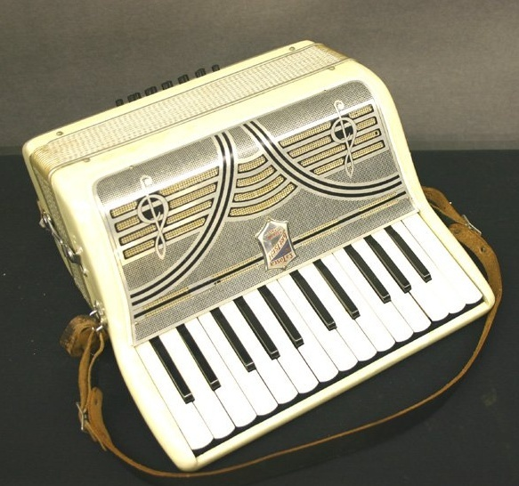 """Vintage Gretsch accordéon """"la tosca"""" Sans_t18"""