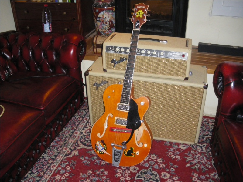 "Fender  BASSMAN blond  ""6g6B""  Setzer18"