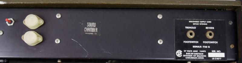 GRETSCH USA Vintage Sonax 750G Combo 2x12 80 Watt Sonx4_10