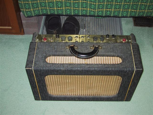 "1959 Gretsch Stereo amp"" head"" Stereo10"