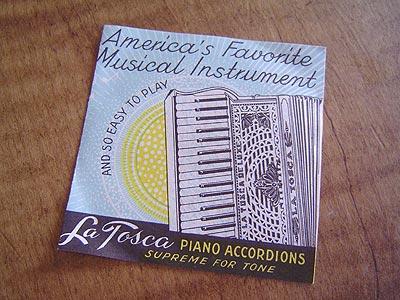 """Vintage Gretsch accordéon """"la tosca"""" String18"""