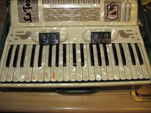 """Vintage Gretsch accordéon """"la tosca"""" T2ec1613"""
