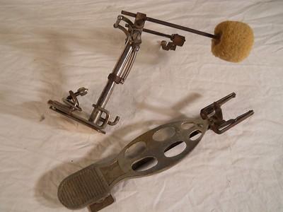"""Vintage Gretsch"""" PEDALS"""" Drum T2ec1644"""