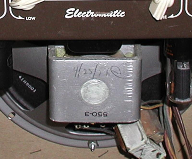 1955 Gretsch 6155 Electromatic Artist Tube Amp T2ec1659