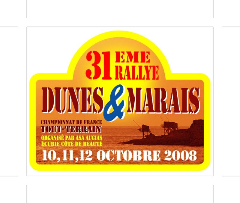 Sticker Dunes et Marais 2008du10