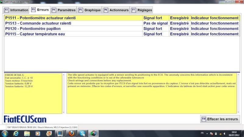 Probleme Moteur 1.2L 80cv - Bobine + bougies neuves - Page 4 Erreur10