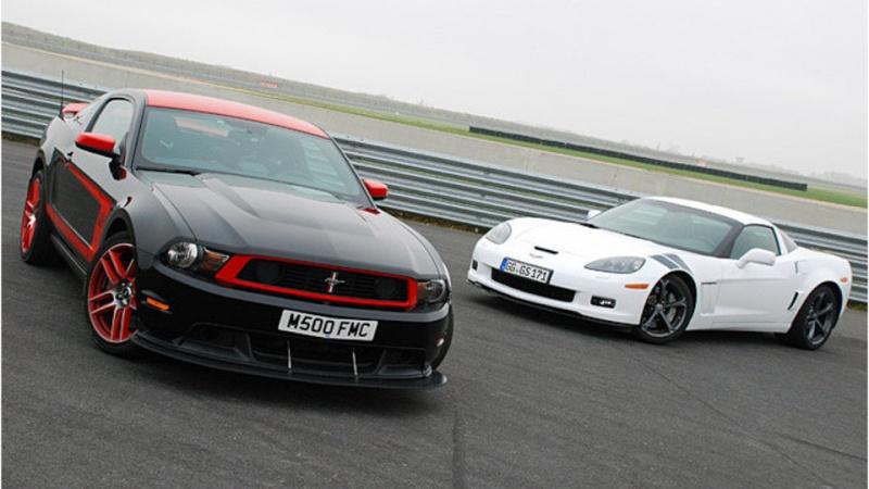 [ ESSAI COMPARATIF ] Corvette C6 Grand Sport 437ch VS Ford Mustang Boss 302 Laguna Seca 444ch 03c00216