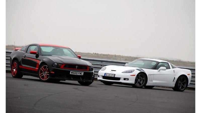 [ ESSAI COMPARATIF ] Corvette C6 Grand Sport 437ch VS Ford Mustang Boss 302 Laguna Seca 444ch 03c00217
