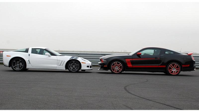 [ ESSAI COMPARATIF ] Corvette C6 Grand Sport 437ch VS Ford Mustang Boss 302 Laguna Seca 444ch 03c00219