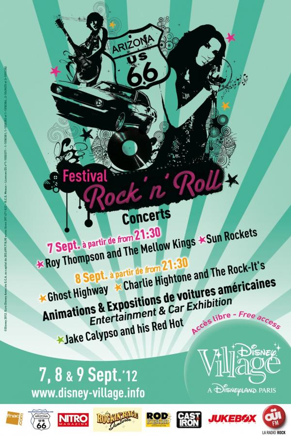 Appel !!! Festival Rock'N'Roll à Disney Village 2012 Festiv11