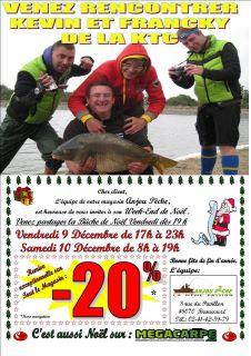 Soirée Noël à Anjou-Pêche avec la kiki team carpiste 38173810