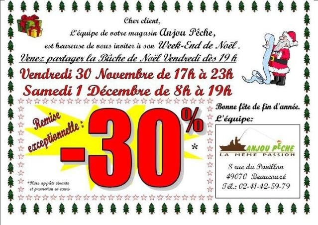 Ce Week-end, Opé de noël à Anjou-Pêche beaucouzé  68430_10