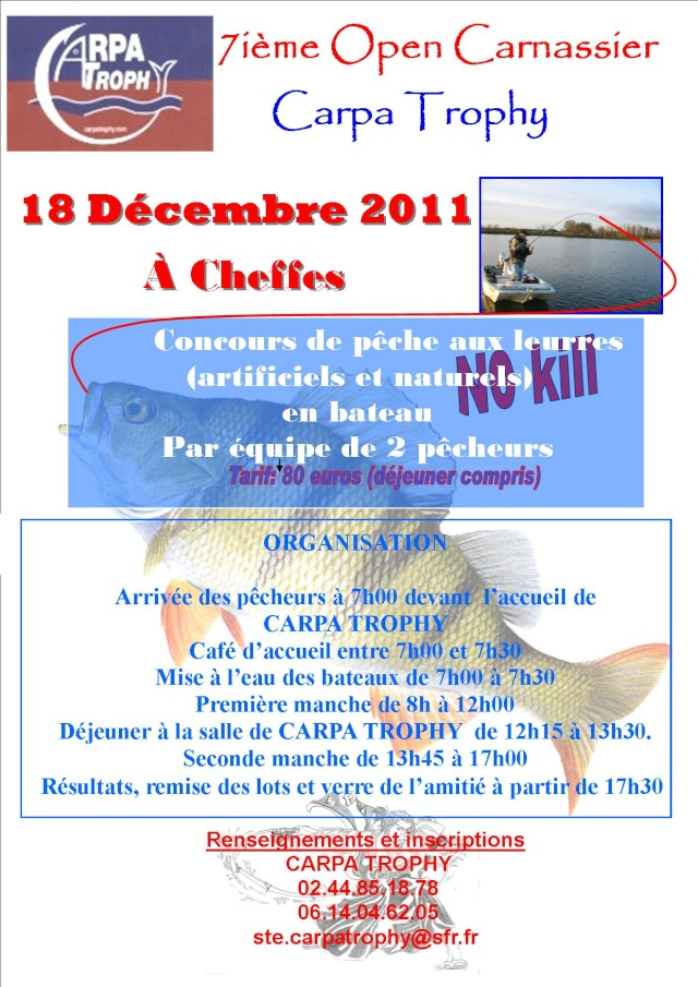 7iéme Open Carnassier Carpa-Trophy le 18/12/2011 Affich10
