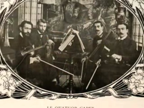Debussy: quatuor à cordes Capet10