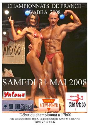 FINALE FRANCE WABBA 2008 Affich15
