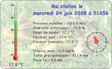 Observations du Mercredi 4 Juin 2008 Repor101