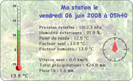 Observations du Vendredi 6 Juin 2008 Repor104