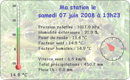 Observations du Samedi 7 Juin 2008 Repor106