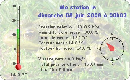 Observations du Dimanche 8 Juin 2008 Repor108