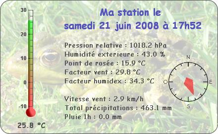 Observations du Samedi 21 Juin 2008 Repor120